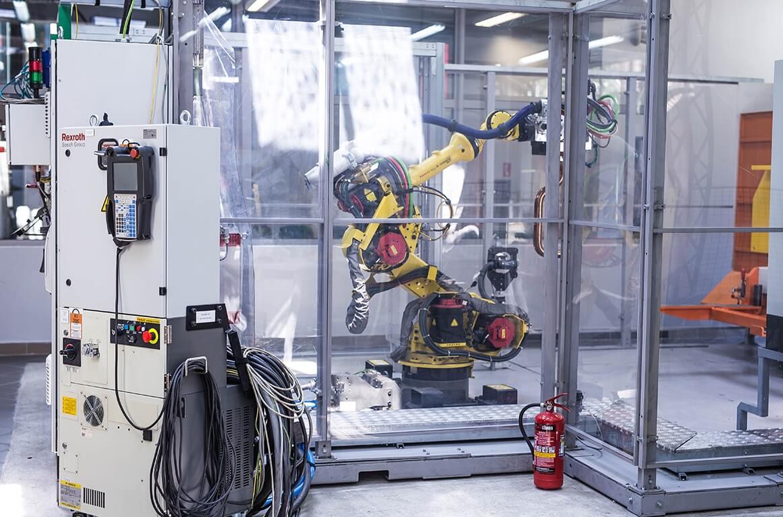RF2: On-line programming of industrial robots FANUC